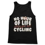 No Hour of Life is Wasted With A Cycling Classic Adult Tank Top