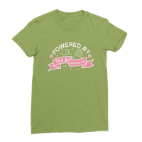 Powered By Tea And Chocolate Classic Women's T-Shirt