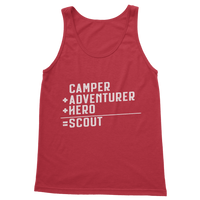 Camper + Adventurer + Hero = Scout Classic Adult Tank Top