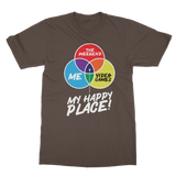 Video Games is My Happy Place Classic Adult T-Shirt