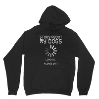 Story About My Dogs Loading... Please Wait Classic Adult Hoodie