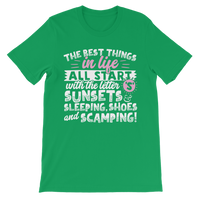 All The Best Things in Life Start With The Letter S - Camping T-Shirt Classic Kids T-Shirt