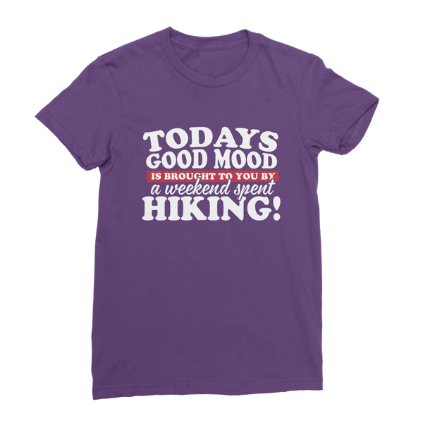 Good Mood Weekend Hiking Classic Women's T-Shirt
