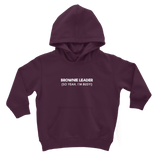 Brownie Leader (So Yeah, I'm Busy!) Guide Classic Kids Hoodie