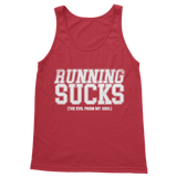 Running Sucks The Evil From My Soul Classic Adult Tank Top