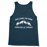 Challenge The Norm White Logo Classic Women's Tank Top