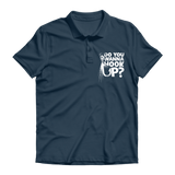 Do You Wanna Hook Up? Premium Adult Polo Shirt