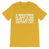 Marathon 10K With A 20 Mile Victory Lap Premium Kids T-Shirt