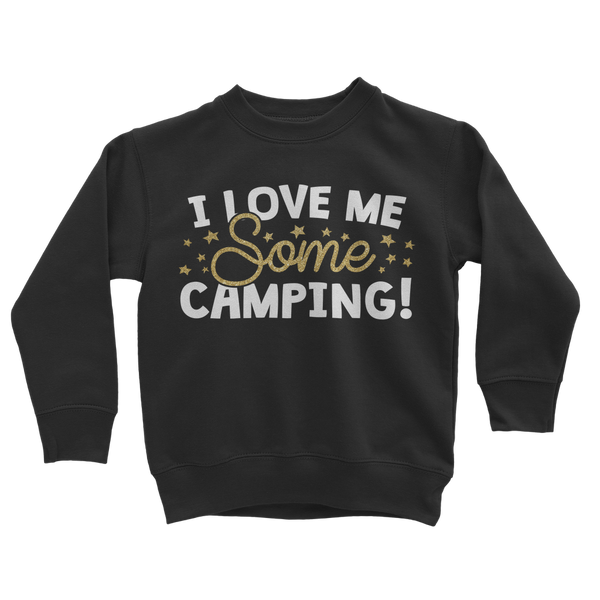 I Love Me Some Camping Classic Kids Sweatshirt