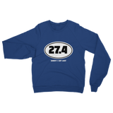 27.4 Sorry I Got Lost Classic Adult Sweatshirt
