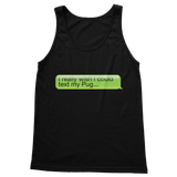I Really Wish I Could Text my Pug Classic Women's Tank Top