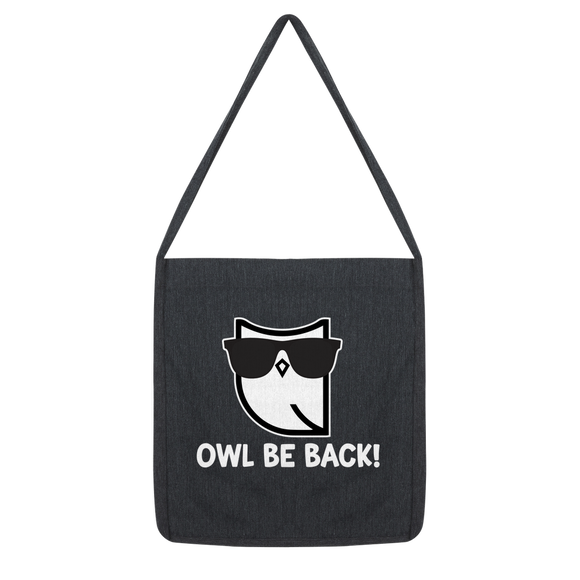 Owl Be Back! Classic Tote Bag