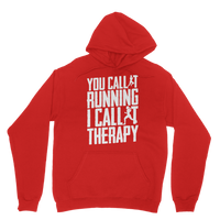 You Call It Running I Call It Therapy Classic Adult Hoodie