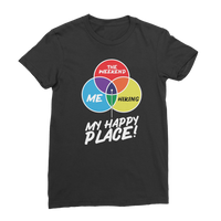 Hiking is My Happy Place Premium Jersey Women's T-Shirt