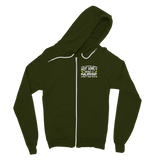 The Weak Need Not Apply Being a Nurse Aint No 9 to 5 Classic Adult Zip Hoodie