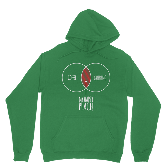 Happy Place Coffee And Guiding Guide Classic Adult Hoodie