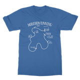 Marathon Running Route Classic Adult T-Shirt