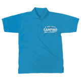 If She Loves Camping She's a Keeper! Classic Women's Polo Shirt