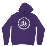 Challenge The Norm Running Logo Classic Adult Hoodie