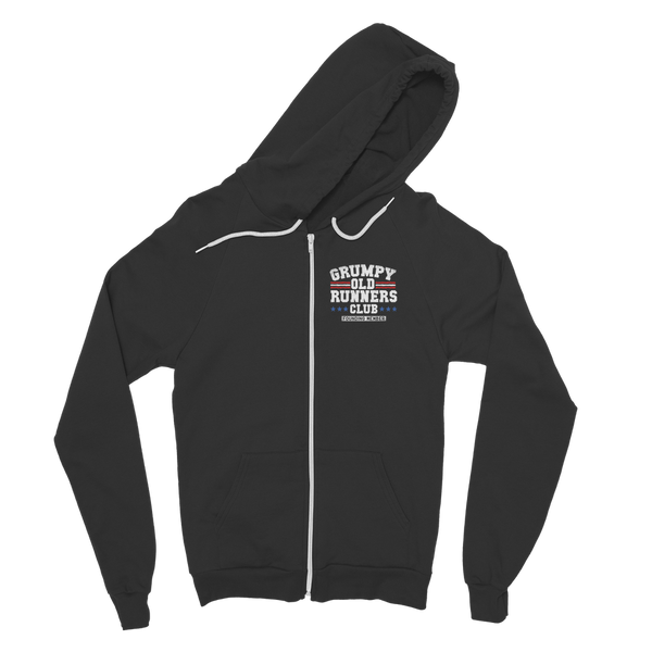 Grumpy Old Runners Club Founding Member Classic Adult Zip Hoodie