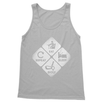 Eat, Sleep, Golf, Repeat Classic Women's Tank Top