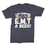 Can Someone Get This E.M.T a Beer! Premium Jersey Men's T-Shirt