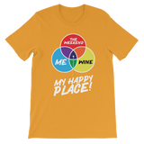 Wine is My Happy Place Premium Kids T-Shirt