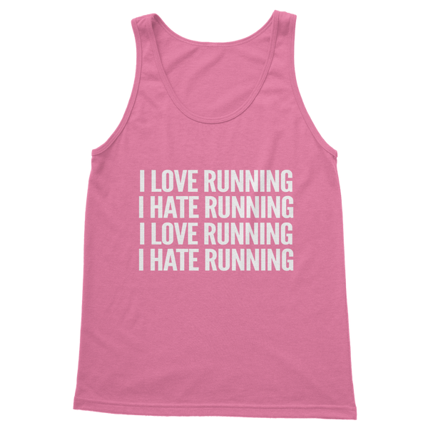 I Love Running I Hate Running Classic Women's Tank Top