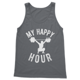 My Happy Hour Weightlifting Classic Adult Tank Top