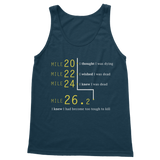 Marathon Runner Too Tough To Kill Classic Adult Tank Top