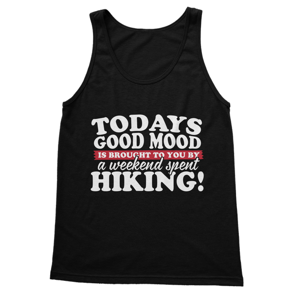 Good Mood Weekend Hiking Classic Adult Tank Top