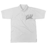 Life is a Game Rugby is Serious Classic Adult Polo Shirt