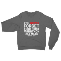 You Never Forget Your First Marathon London 2018 Classic Adult Sweatshirt