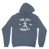 Running The Key To My Sanity Classic Adult Hoodie