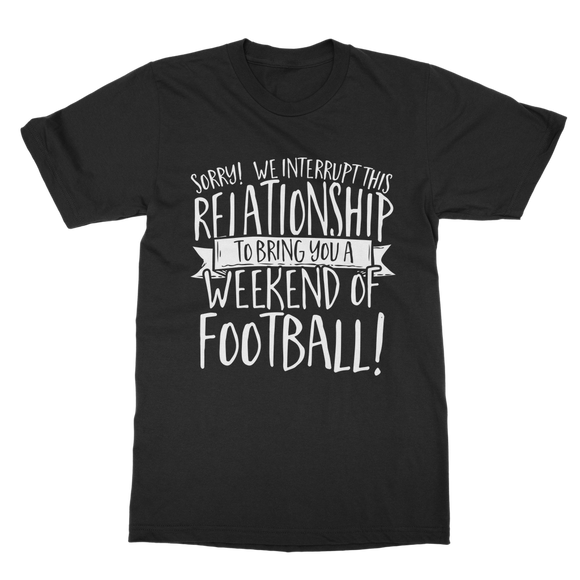 Football - Sorry Classic Adult T-Shirt