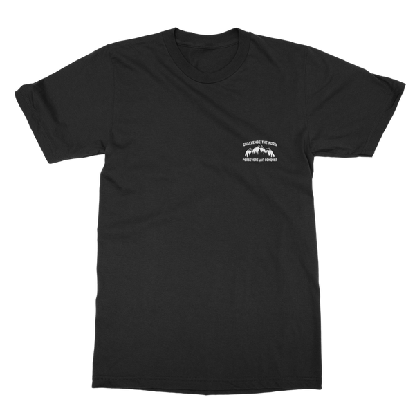 Challenge The Norm Pocket Motif Classic Adult T-Shirt