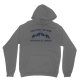 Challenge The Norm Blue Logo Classic Adult Hoodie