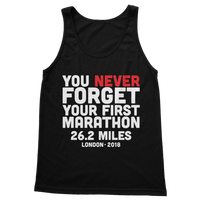 You Never Forget Your First Marathon London 2018 Classic Adult Tank Top