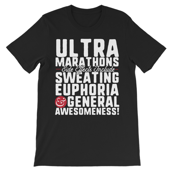 Marathon Side Effects Include Sweating, Euphoria and General Awesomeness Premium Kids T-Shirt