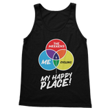 Cycling is My Happy Place Classic Adult Tank Top