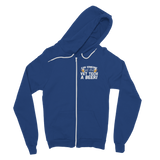 Can Someone Get Vet Tech a Beer! Classic Adult Zip Hoodie
