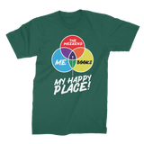 Books is My Happy Place Premium Jersey Men's T-Shirt