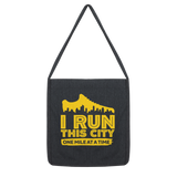 I Run This City One Mile At A Time Classic Tote Bag