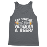 Can Someone Get This Veteran a Beer! Classic Adult Tank Top
