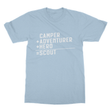 Camper + Adventurer + Hero = Scout Classic Adult T-Shirt