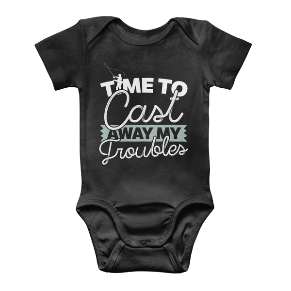 Time To Cast Away My Troubles Classic Baby Onesie Bodysuit