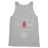 Happy Place Coffee And Guiding Guide Classic Adult Tank Top