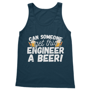 Can Someone Get This Engineer a Beer! Classic Women's Tank Top