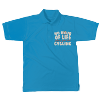 No Hour of Life is Wasted With A Cycling Classic Women's Polo Shirt