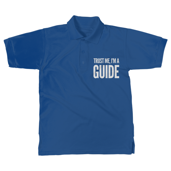 Trust Me I'm A Guide Classic Adult Polo Shirt